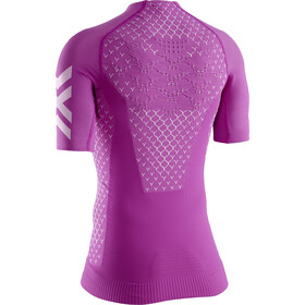 X-Bionic Twyce G2 Run Shirt SS Dame twyce purple/arctic white